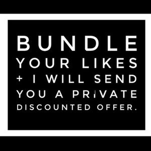 Other - Bundle & Receive Offer!!